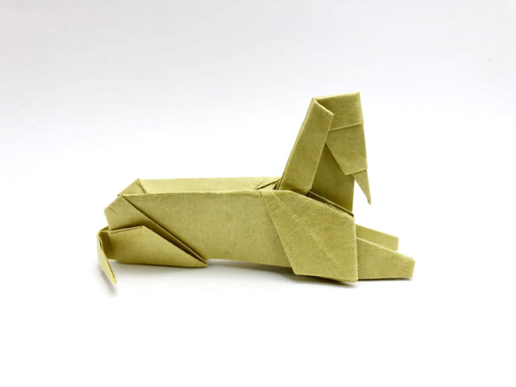 さくBさんによるスフィンクスの折り紙