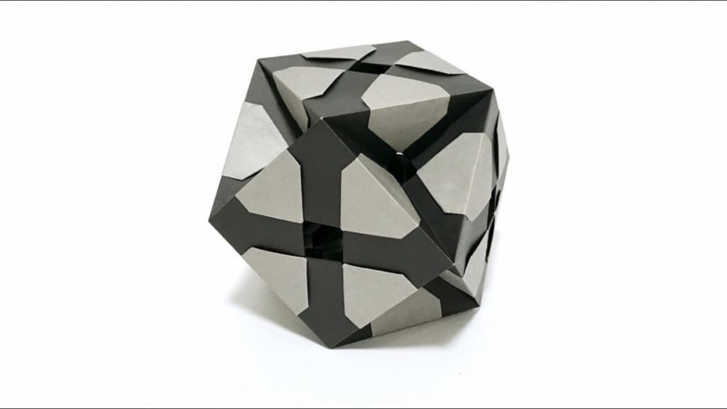 さくBさんによるXC立方八面体の折り紙