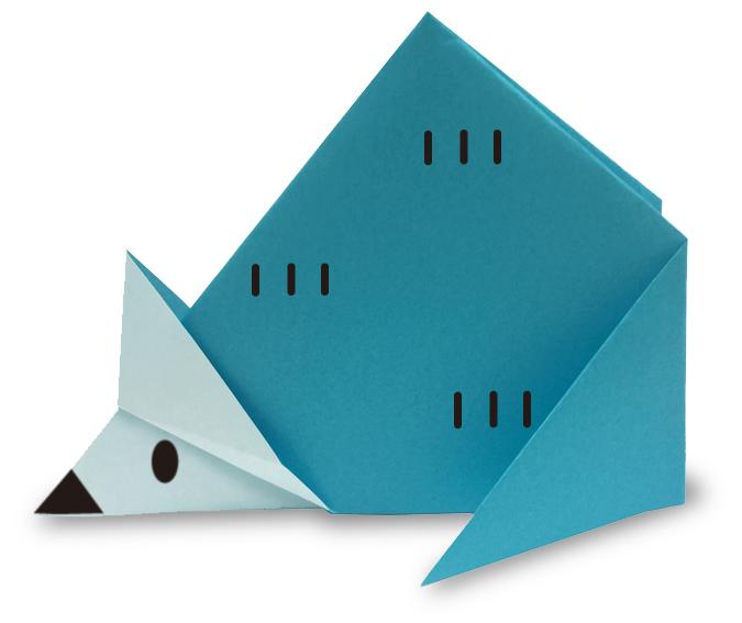 おりがみくらぶ(新宮文明)さんによるねずみ3の折り紙