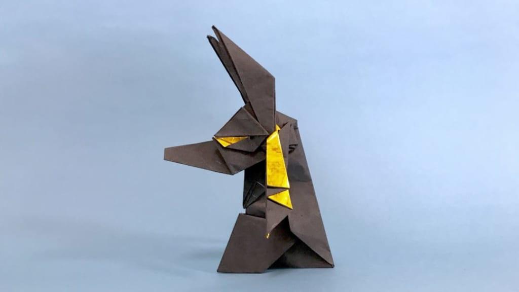 さくBさんによるアヌビスの折り紙