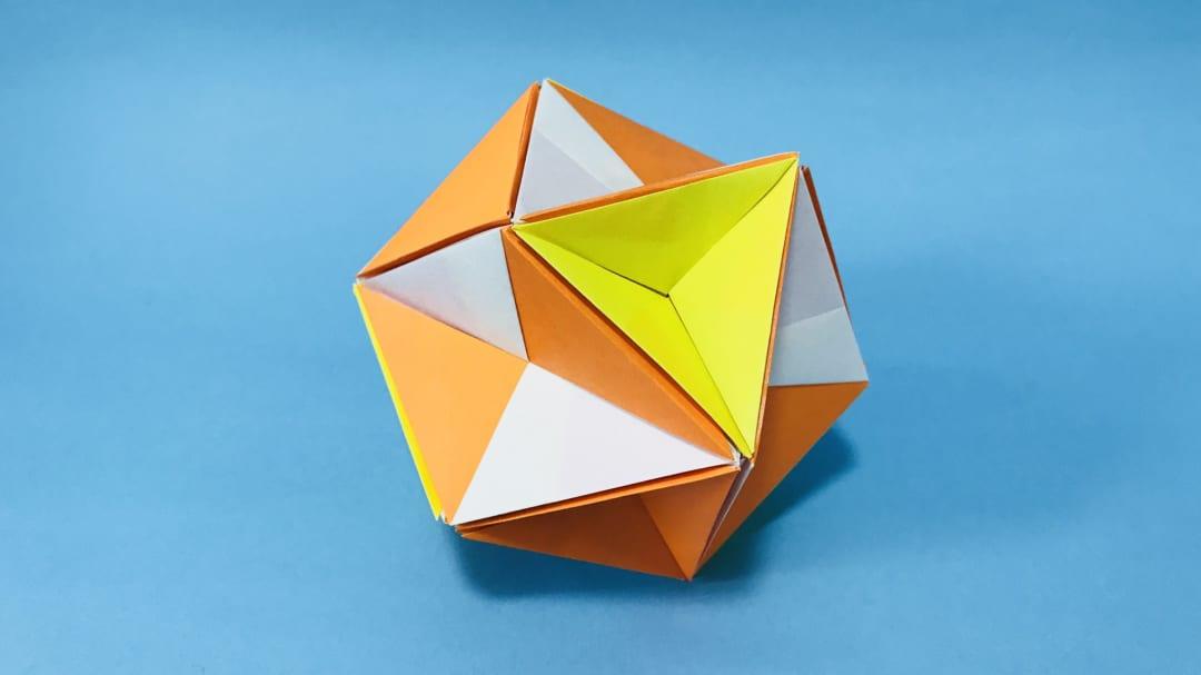 さくBさんによるTenseの折り紙