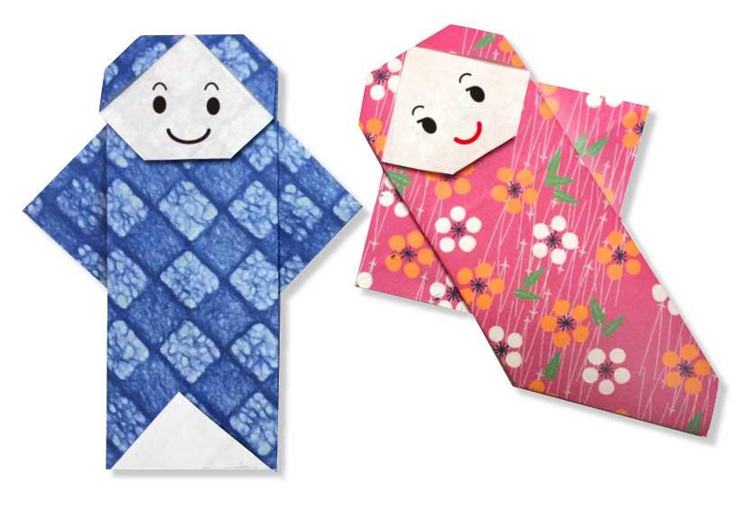 おりがみくらぶ(新宮文明)さんによるおりひめとひこぼしの折り紙