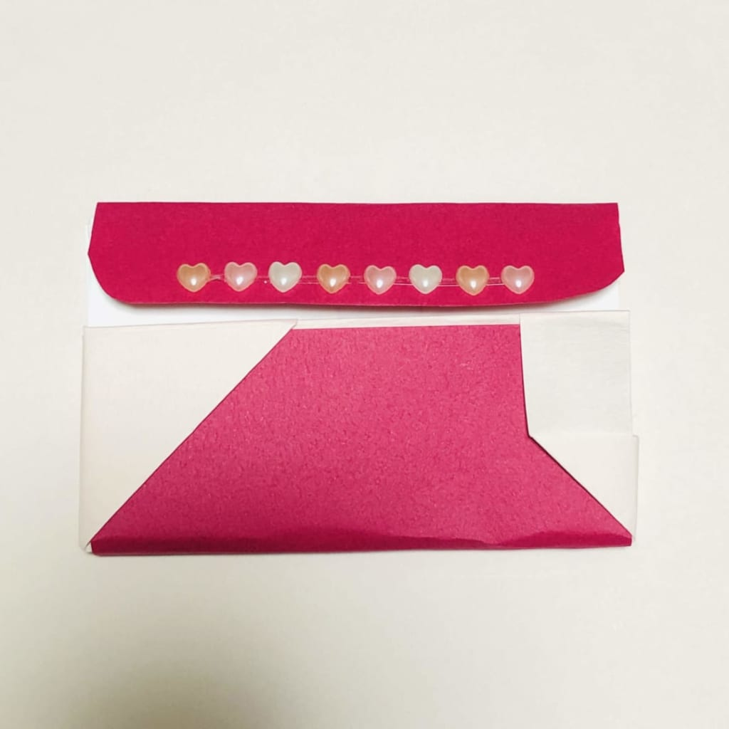 yuhpandaさんによる仕切りのある名刺入れの折り紙