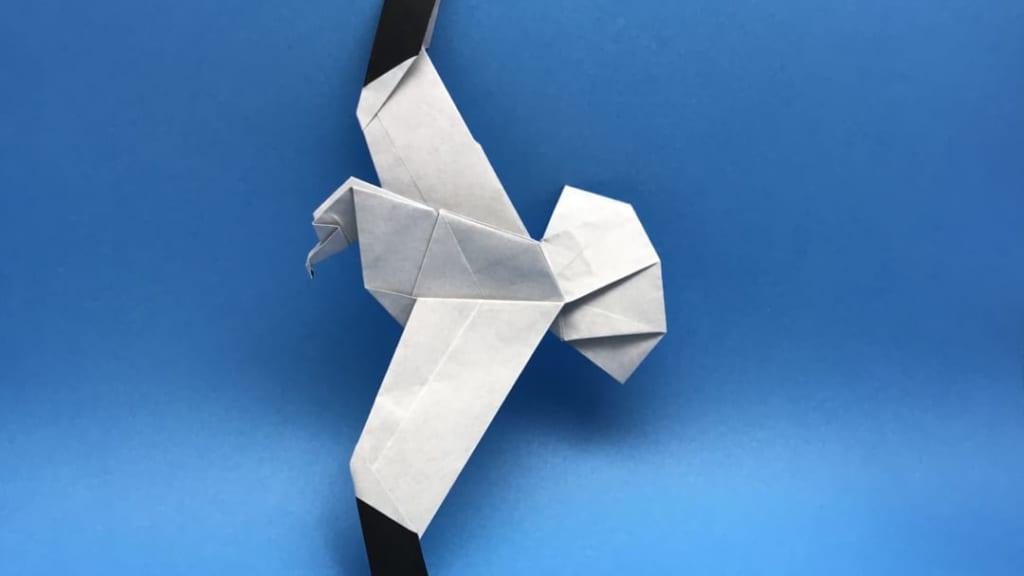 さくBさんによるカモメの折り紙