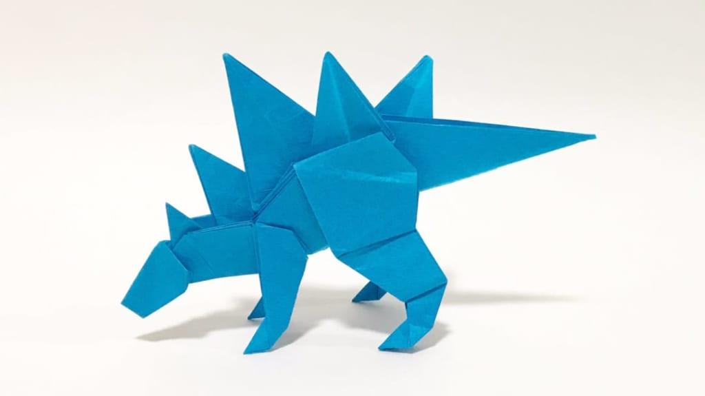 さくBさんによるステゴサウルスの折り紙