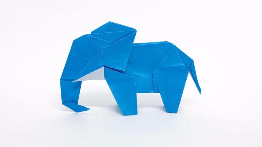 さくBさんによるゾウの折り紙