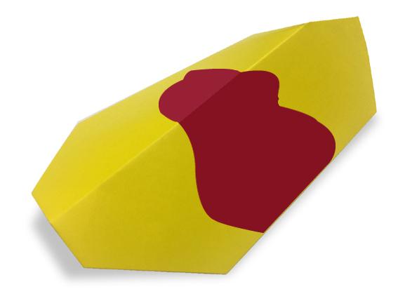 おりがみくらぶ(新宮文明)さんによるおむらいすの折り紙