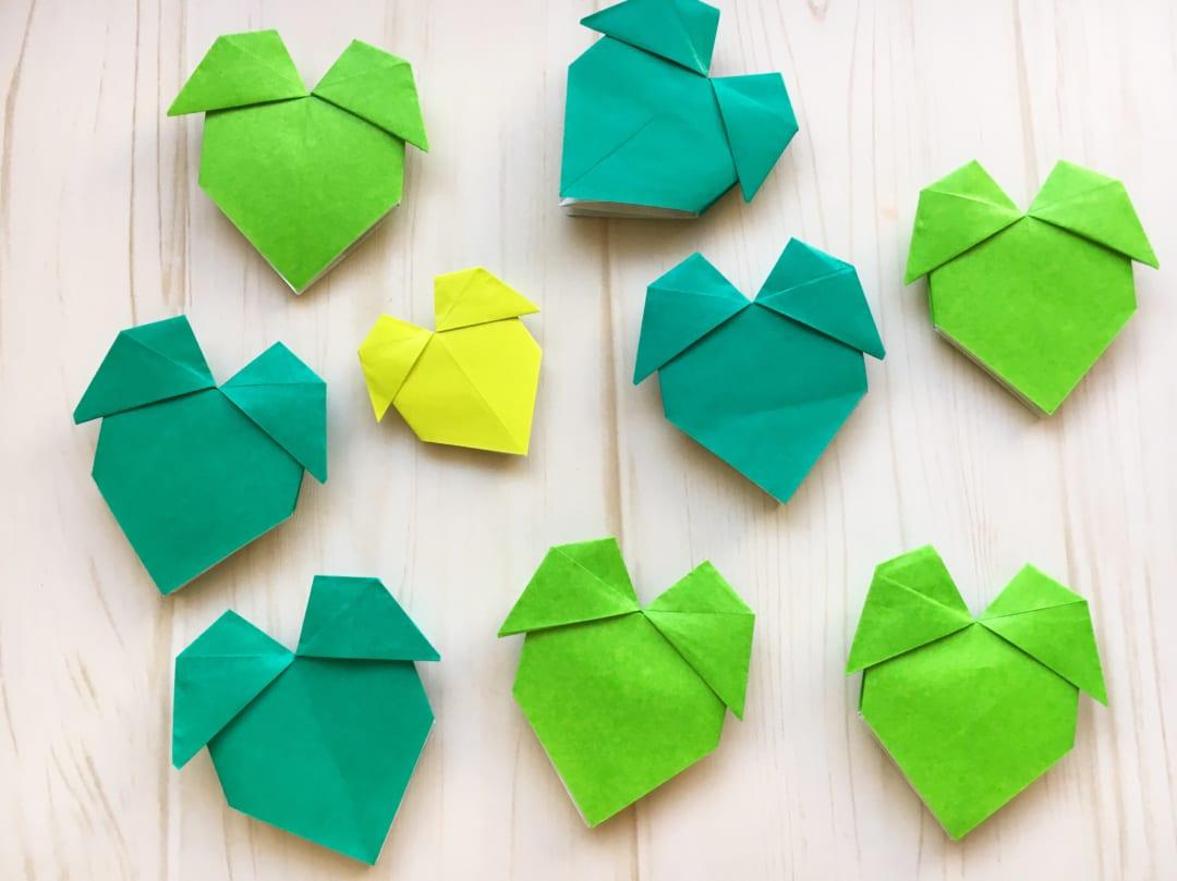 Oriya小町さんによるツタの葉の折り紙