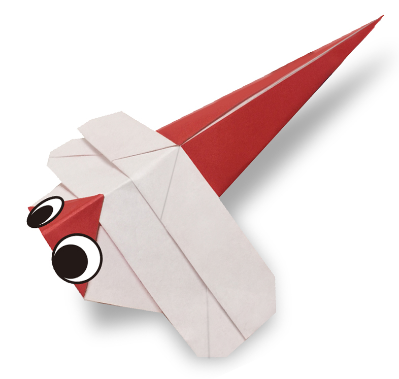 おりがみくらぶ(新宮文明)さんによるあかとんぼ2の折り紙