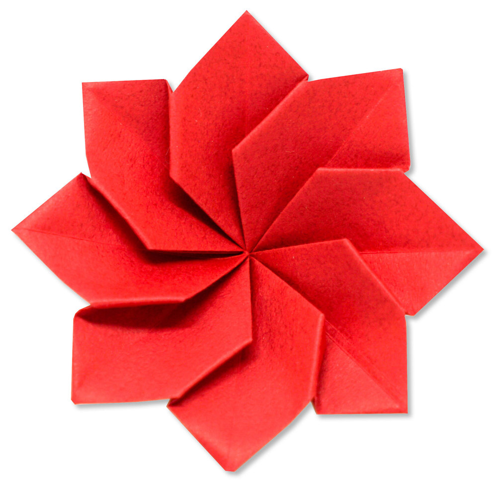 小宮はじめさんによる[有料] 皇帝ダリアの折り紙
