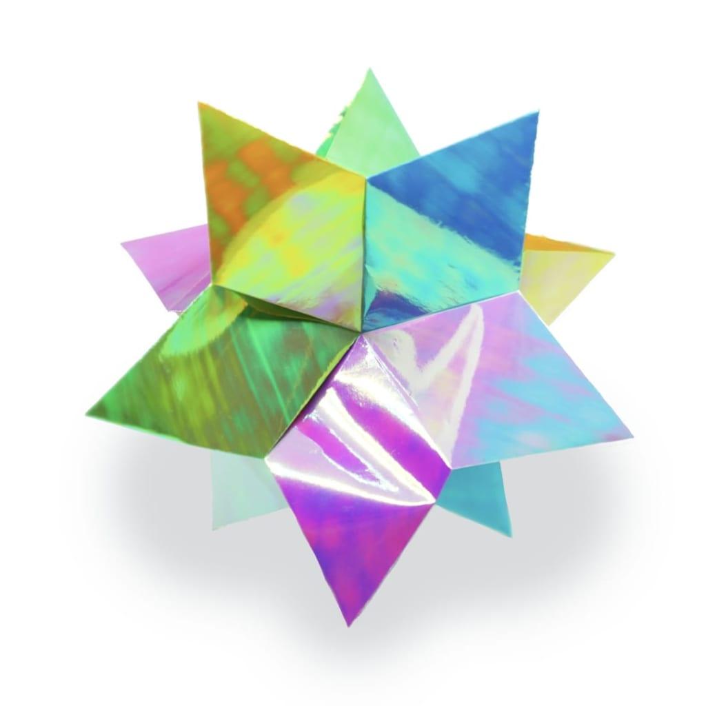 小宮はじめさんによる[有料] ツイスト スターの折り紙