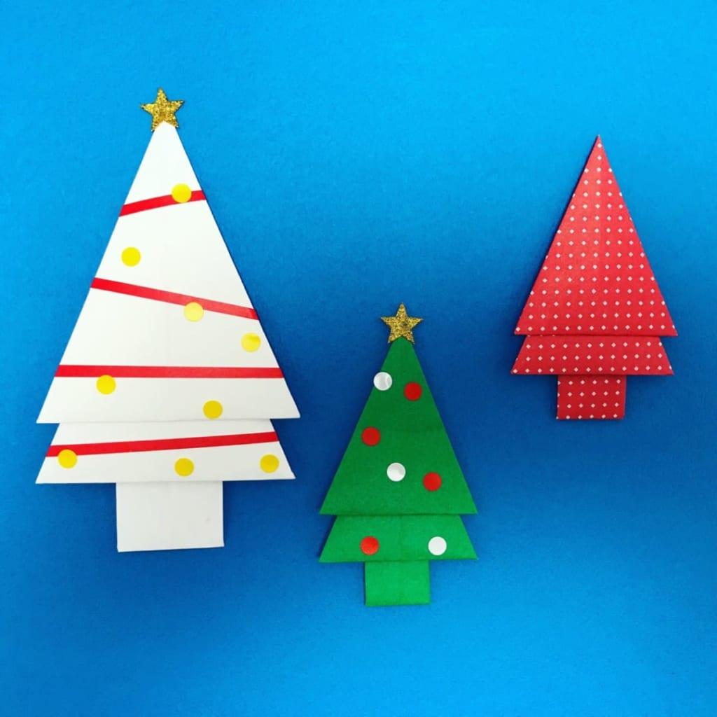 カミキィさんによるもみの木の折り紙