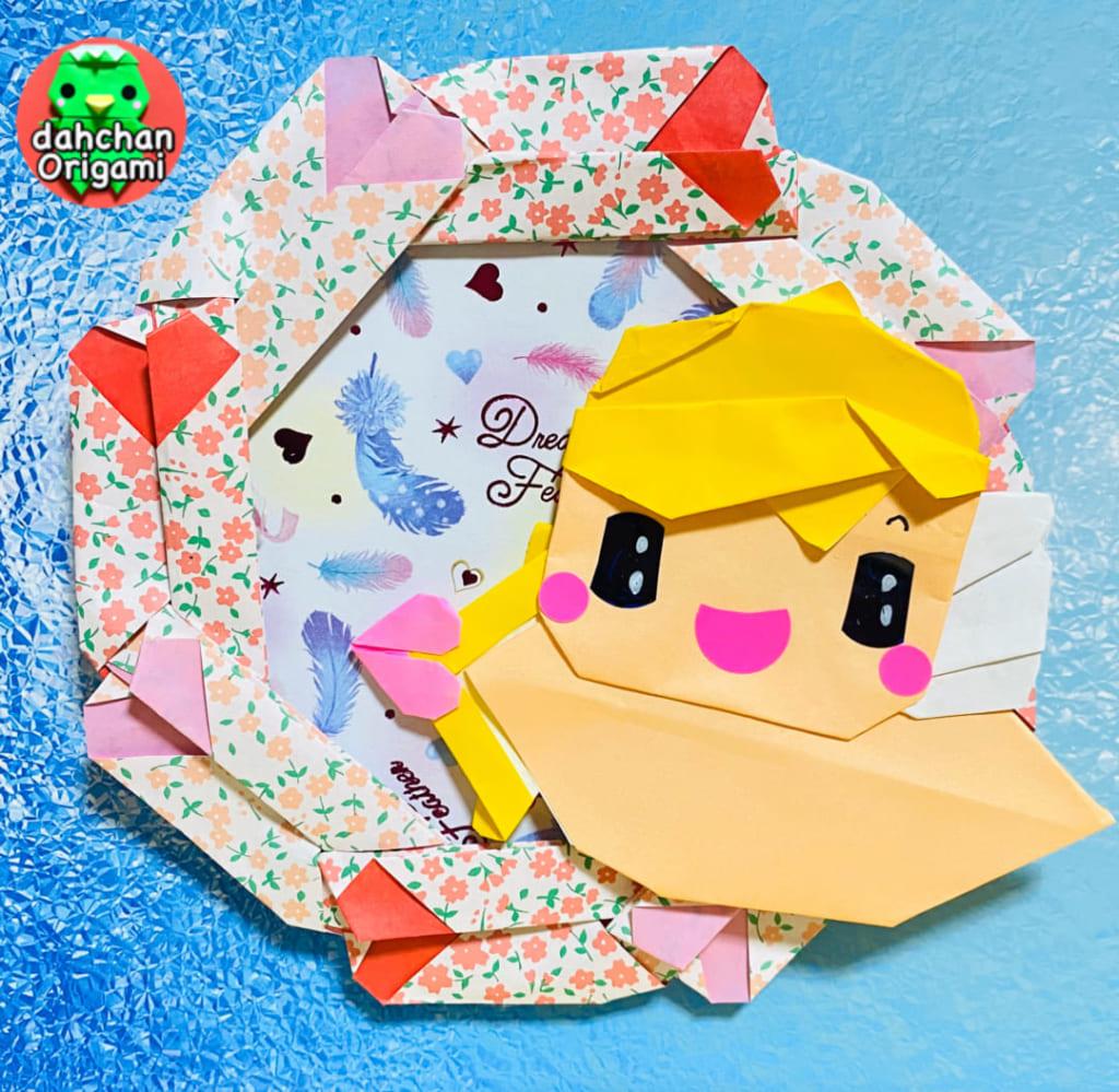 だ〜ちゃんさんによるキューピットの折り紙