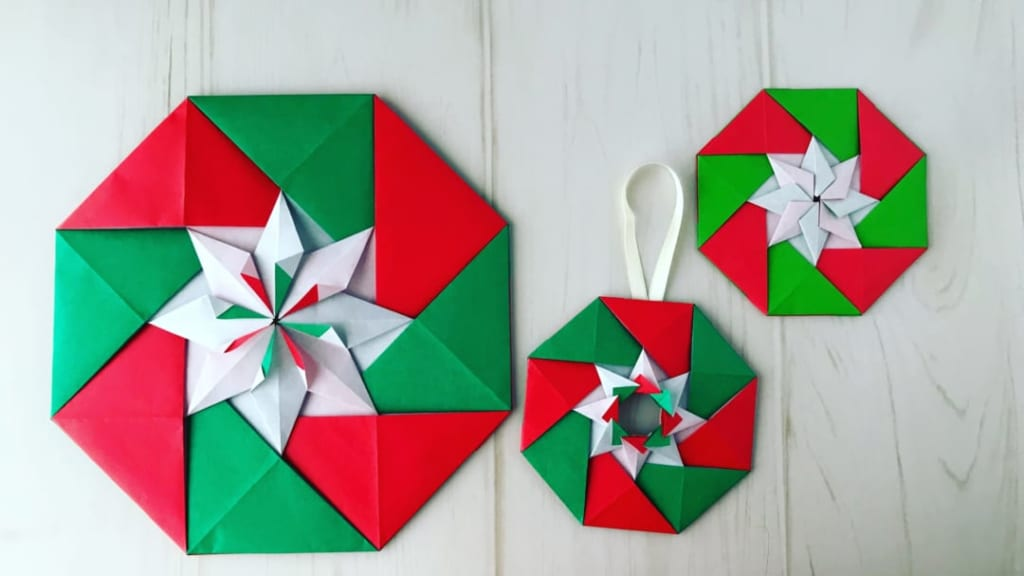 カミキィさんによるカペラ(星)の折り紙
