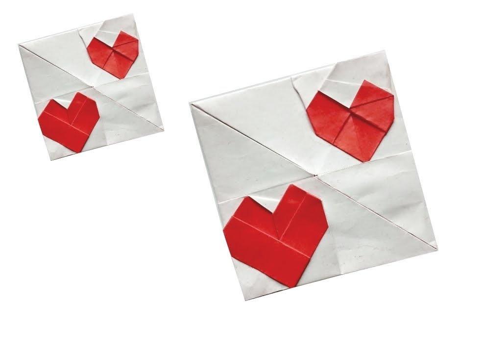 ハディさんによる💕の折り紙