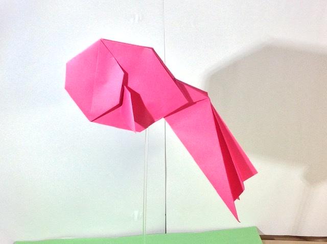竹内ケイさんによるキンギョの折り紙