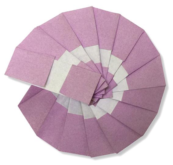 おりがみくらぶ(新宮文明)さんによるあんもないとの折り紙