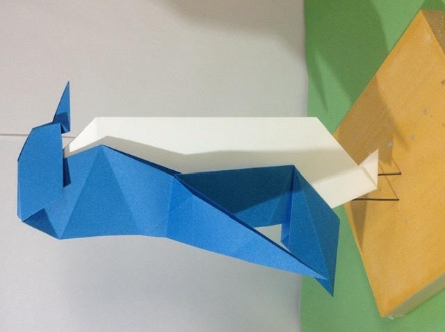 竹内ケイさんによるペンギンの折り紙