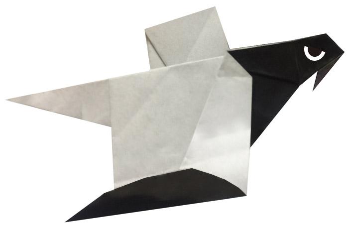 おりがみくらぶ(新宮文明)さんによるおおわしの折り紙