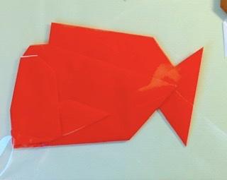 竹内ケイさんによるタイの折り紙