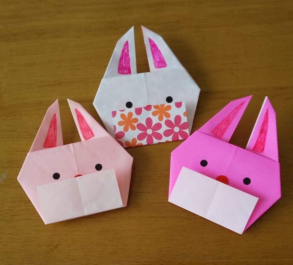 折り紙 マスク