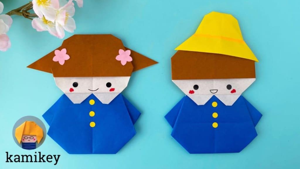 カミキィさんによる園児さんの折り紙