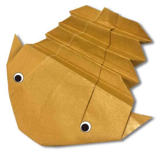 おりがみくらぶ(新宮文明)さんによるさんようちゅうの折り紙