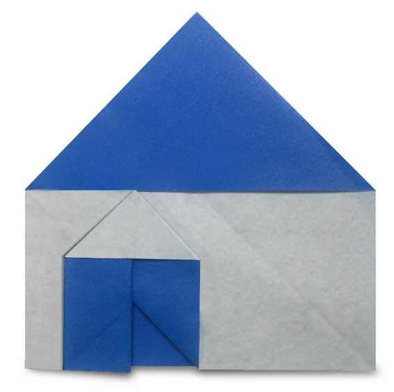 おりがみくらぶ(新宮文明)さんによるいえ4の折り紙