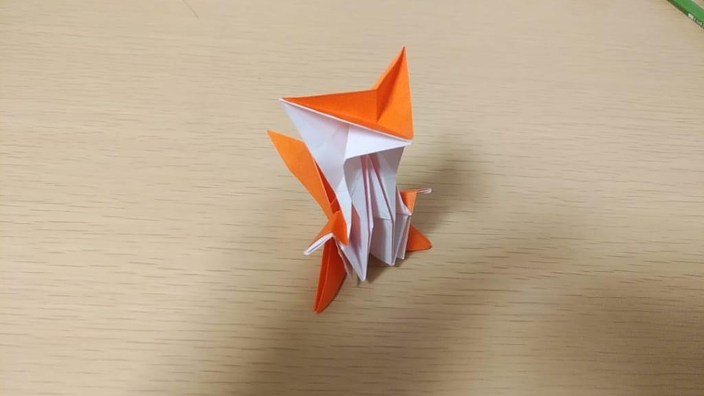 meeting originさんによるキツネの折り紙