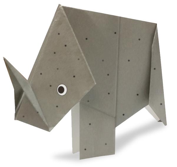 おりがみくらぶ(新宮文明)さんによるさい2の折り紙