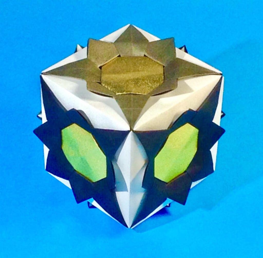 竹内ケイさんによるリリアの折り紙