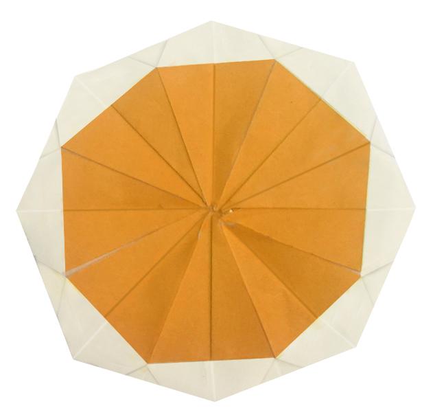 おりがみくらぶ(新宮文明)さんによるおれんじの折り紙
