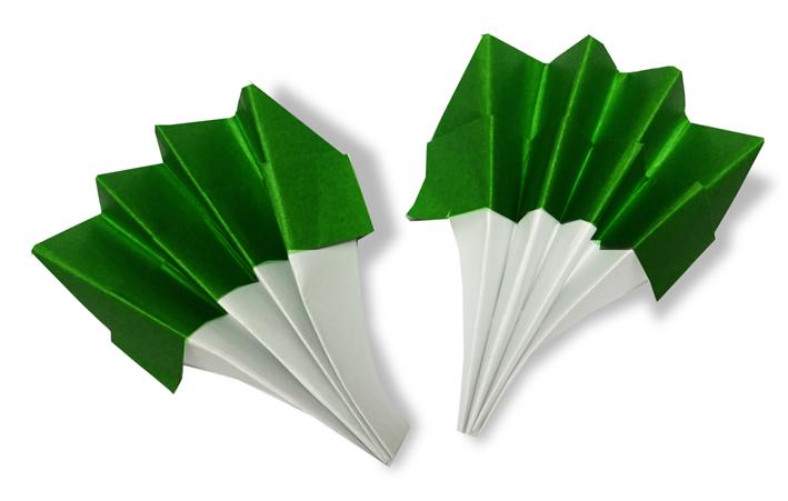おりがみくらぶ(新宮文明)さんによるぶろっこりーの折り紙