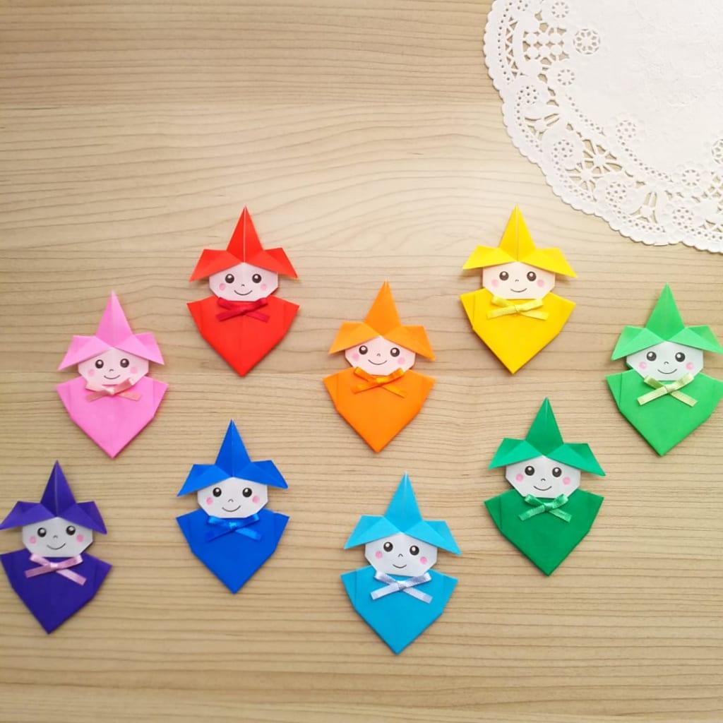 hiroko_daichanさんによる妖精(ようせい)の折り紙