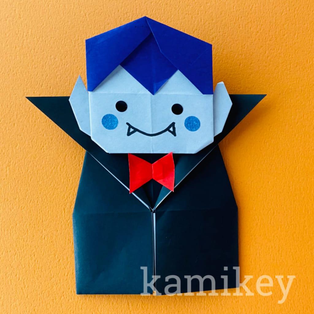 カミキィさんによるドラキュラの折り紙