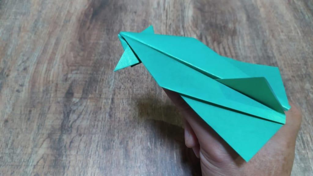 ハディさんによるカナード・デルタ翼の折り紙
