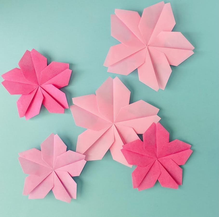カミキィさんによるさくらの折り紙