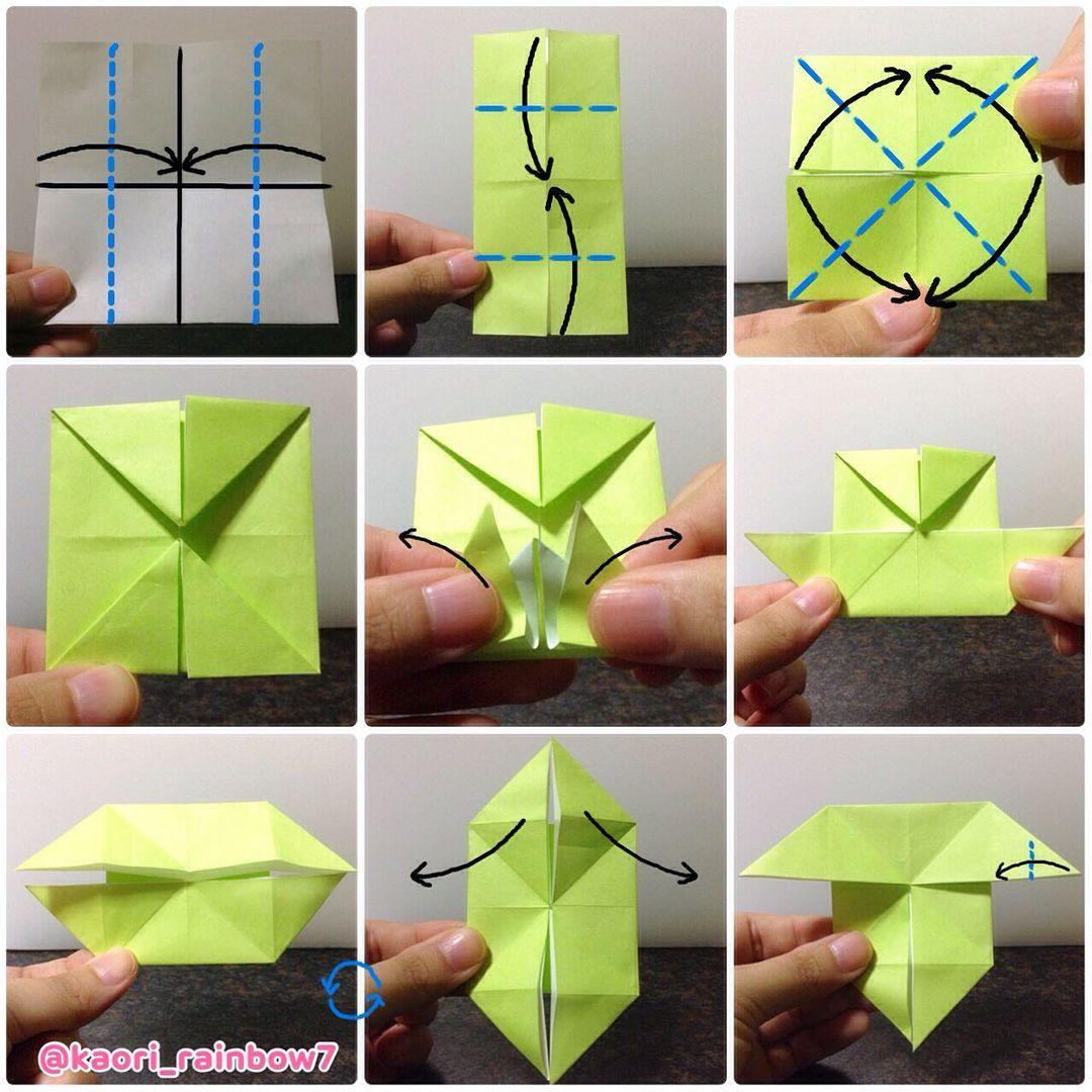 カットした体の折り紙を使います。