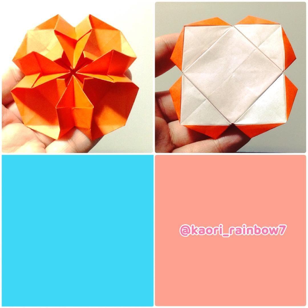 ※完成した作品は、オリカタの「折ってみた」や、SNSにハッシュタグ #kaori_rainbow7 をつけて、ぜひ投稿してくださいね。