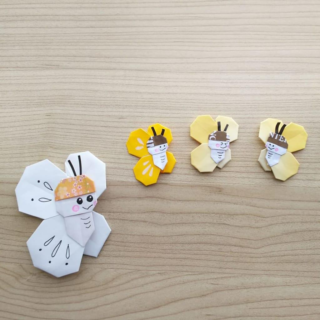 hiroko_daichanさんによるちょうちょの折り紙