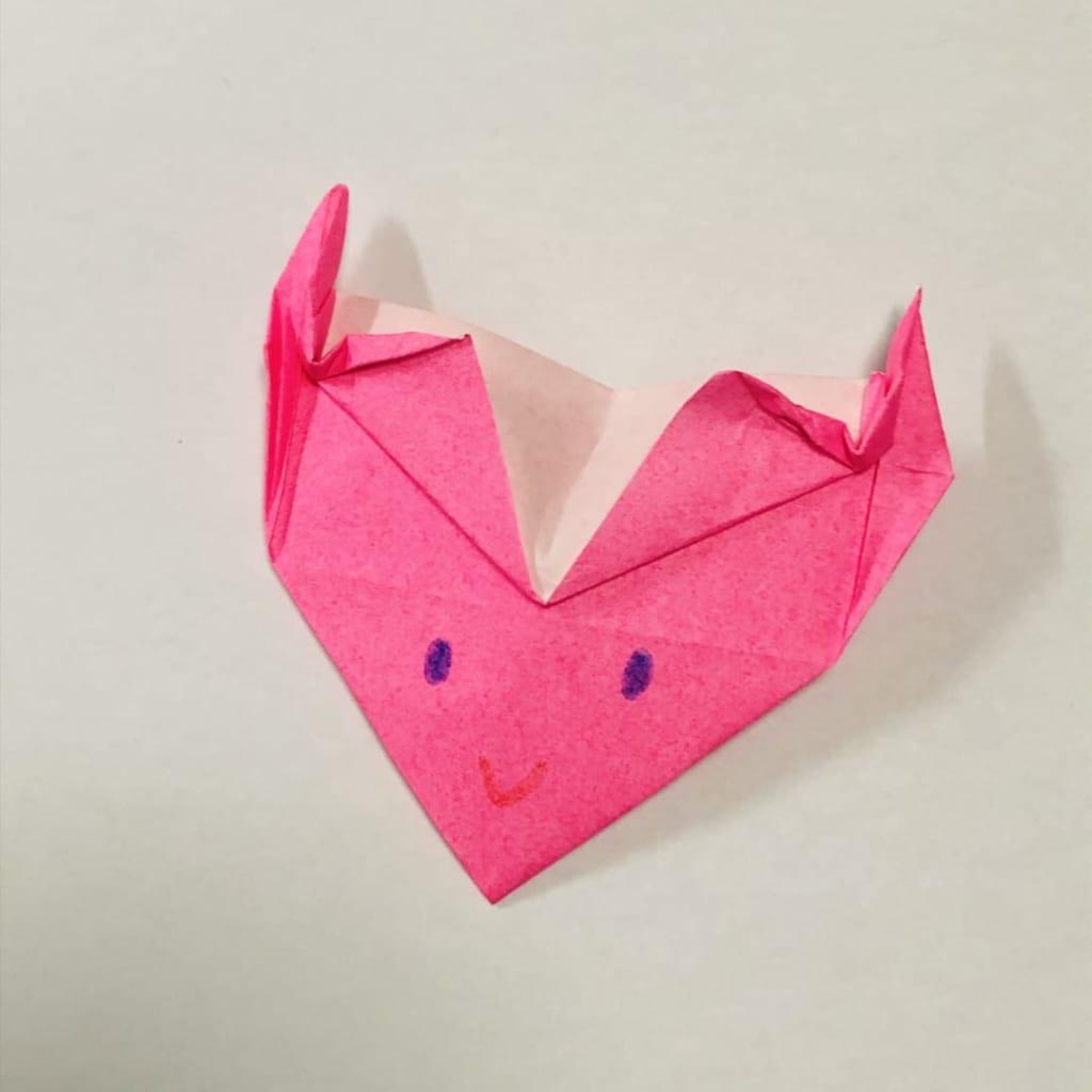 yuhpandaさんによる宇宙人Aの折り紙