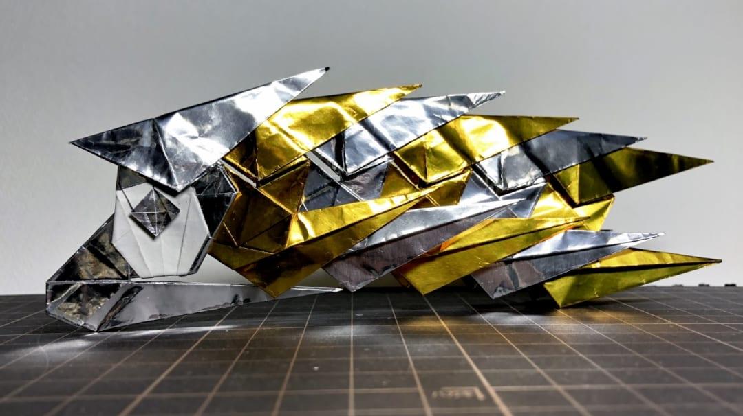 銀色と金色のパターン、豪華ですが合計6枚使用するので金銀に余裕がないとなかなか作れないかも