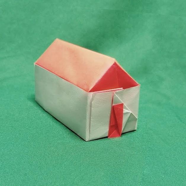 ハディさんによる家の折り紙