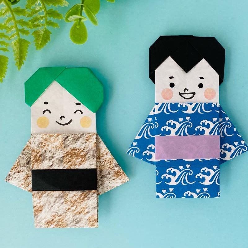 カミキィさんによるきもの兄さんの折り紙