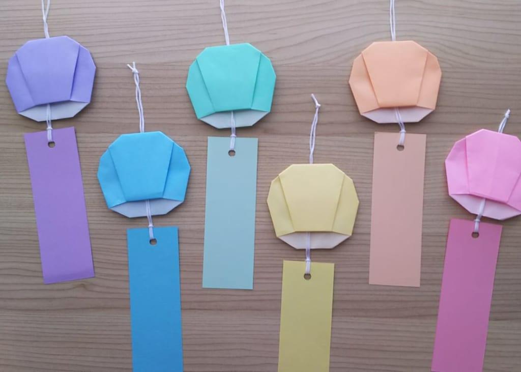 hiroko_daichanさんによる風鈴の折り紙