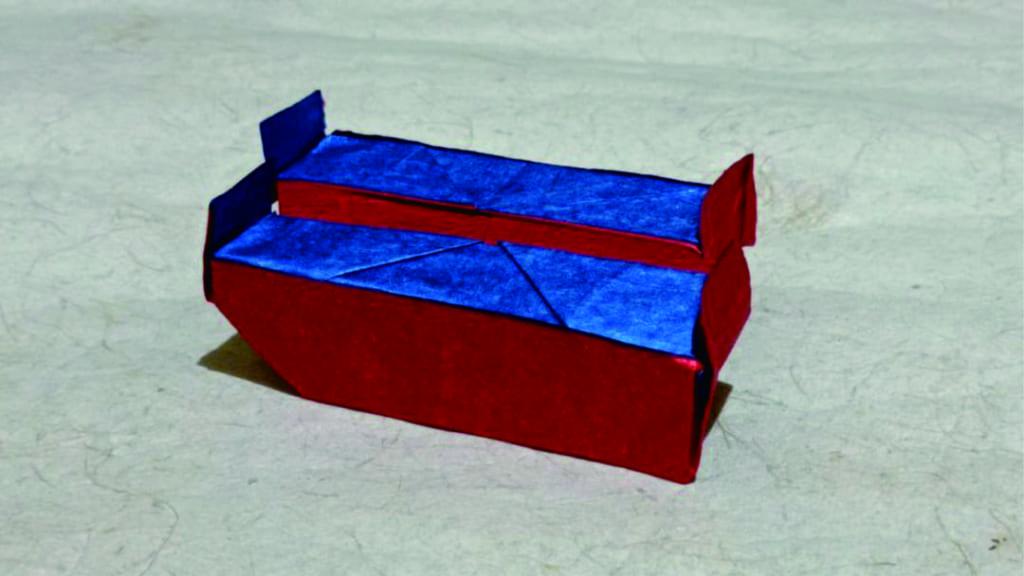 ハディさんによるシュレーダーの階段の折り紙