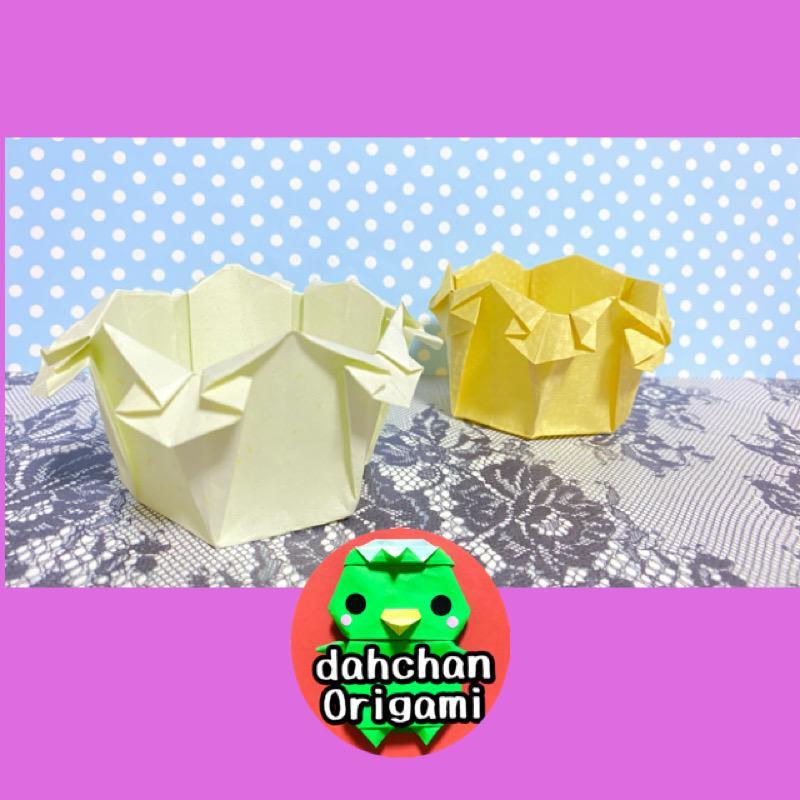 だ〜ちゃんさんによる六角器(音声解説バージョン)の折り紙