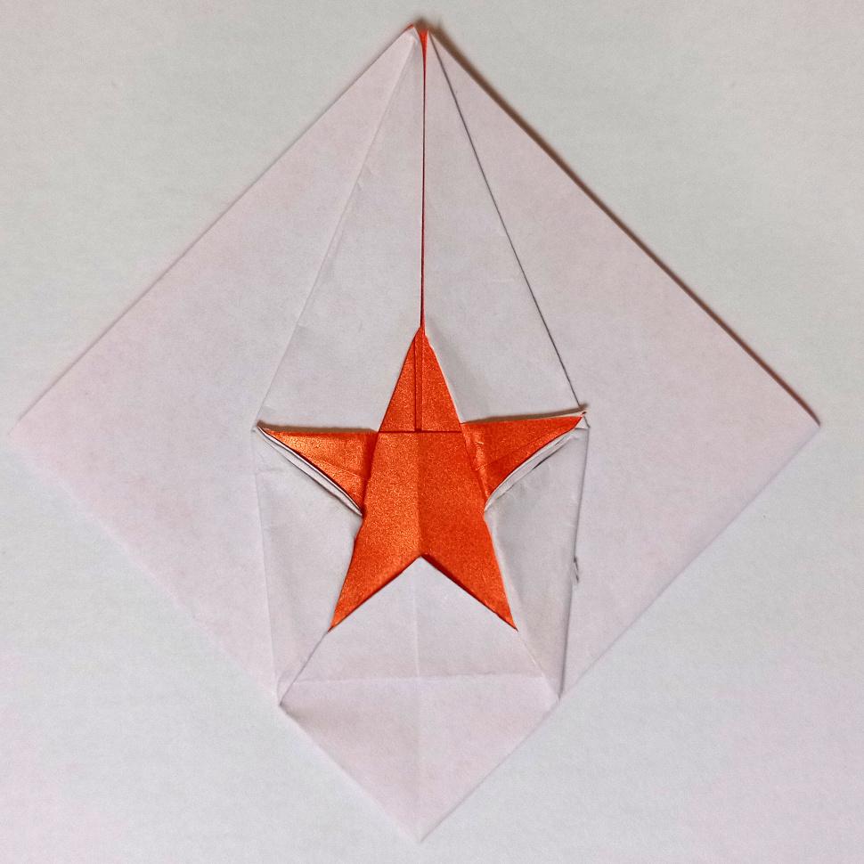 ハディさんによるスターの折り紙