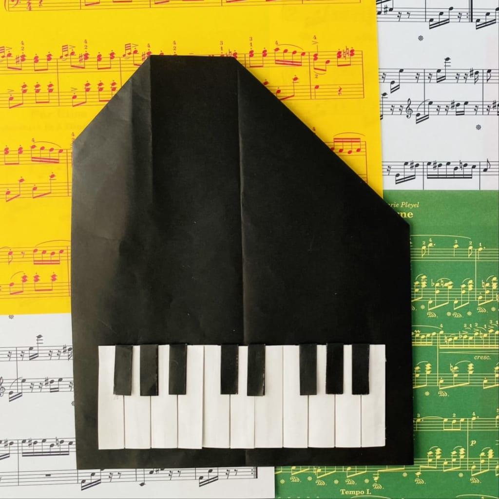 カミキィさんによるピアノの折り紙