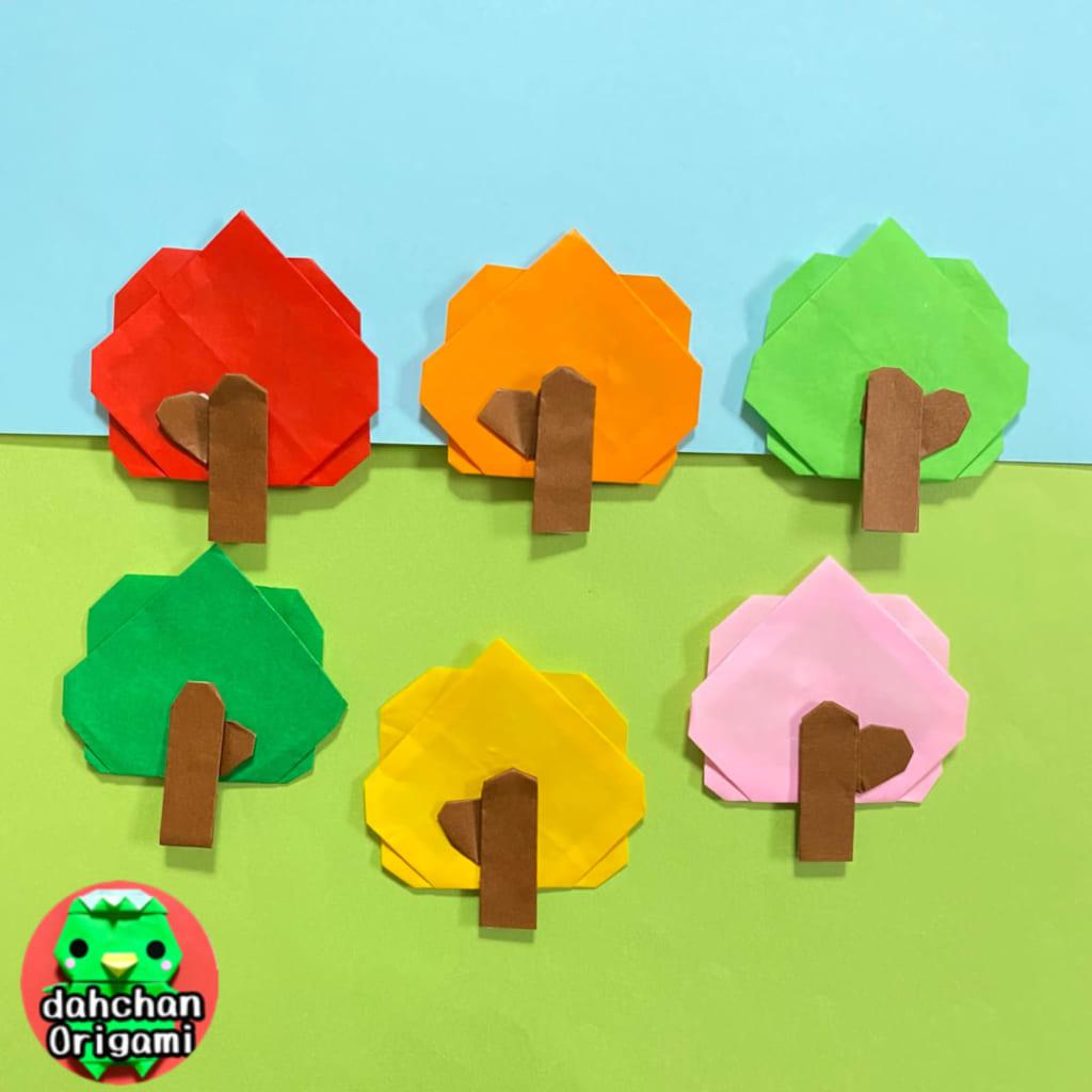 だ〜ちゃんさんによる木の折り紙